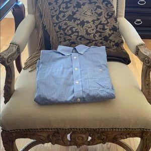 Men's short sleeve Orvis button down shirt
